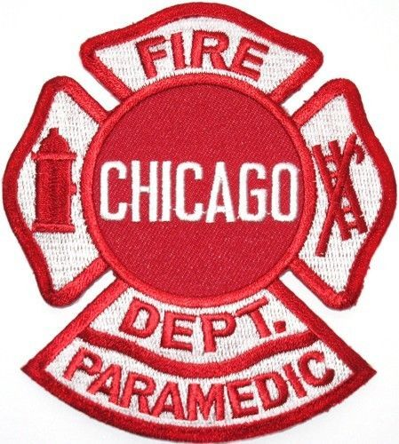 Chicago Fire Dept. Paramedic - Patch/Aufnäher