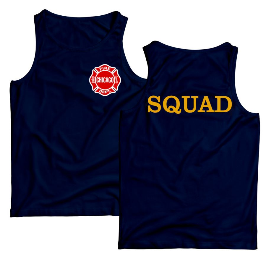 Chicago Fire Dept. - Squad Tanktop
