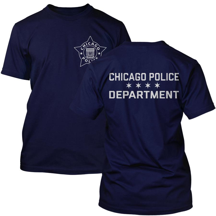 Chicago Police Dept. - T-Shirt in navy