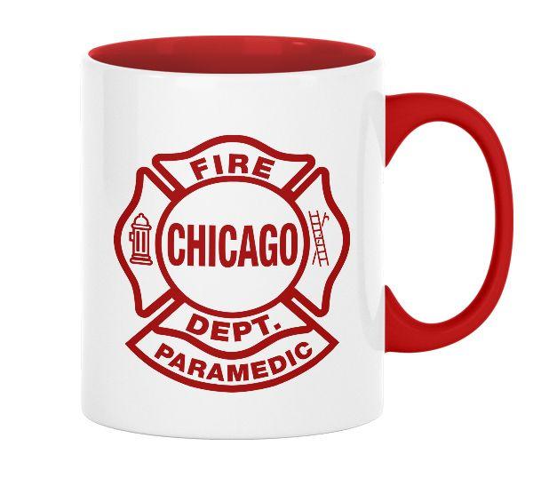 Chicago Fire Dept. Paramedic - Tasse (330ml)