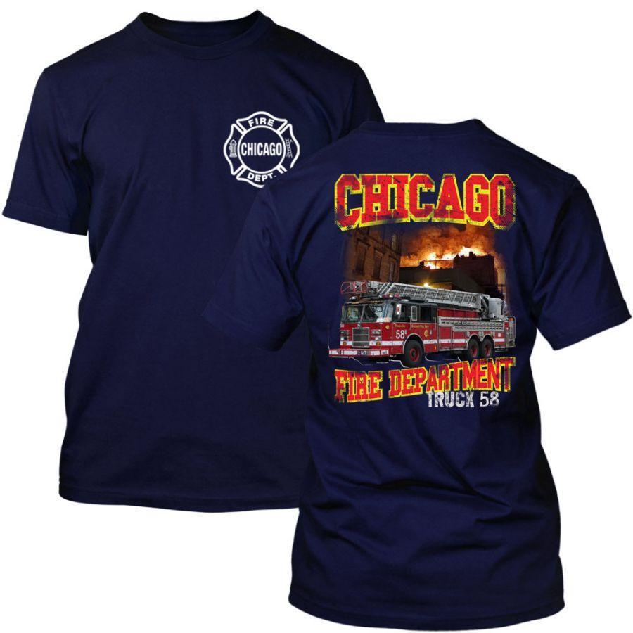 Chicago Fire Dept. - Truck 58 T-Shirt