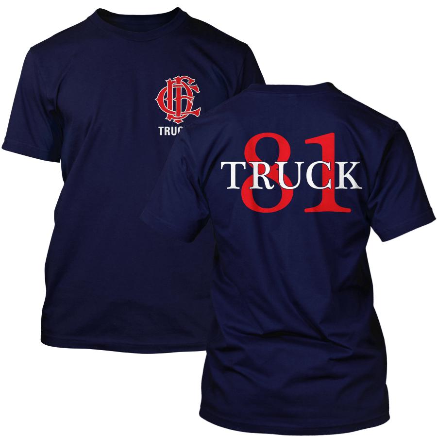 Chicago Fire Dept. - Truck 81 T-Shirt