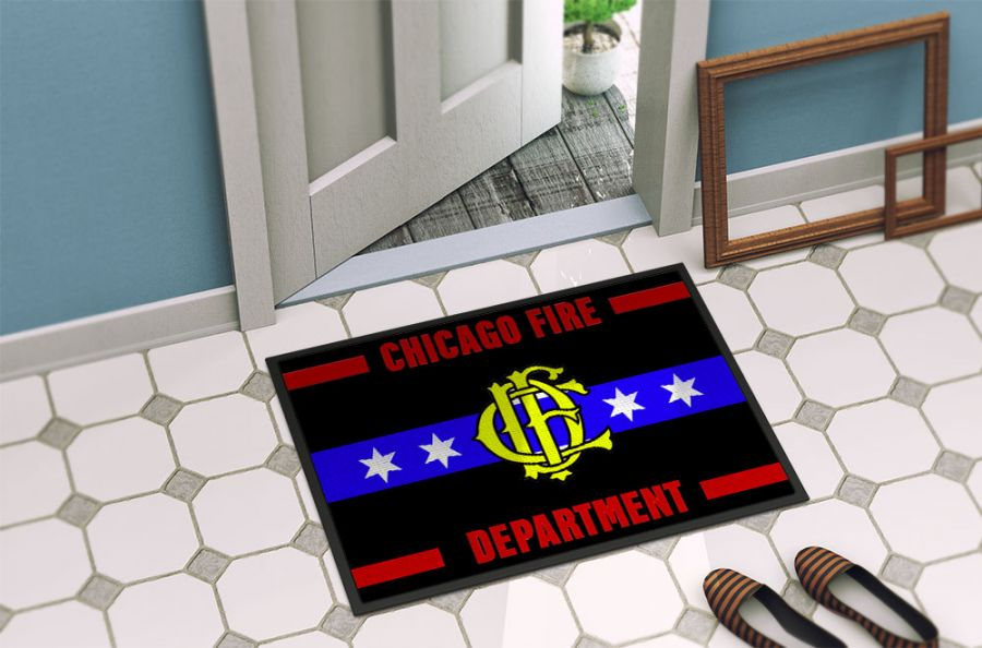 Chicago Fire Dept. - Foot mat