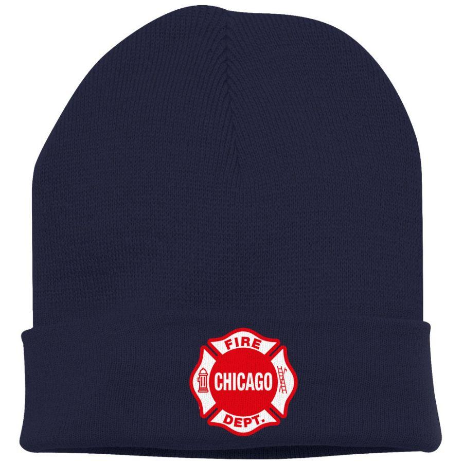 Chicago Fire Dept. (Maltese) - Wintermütze