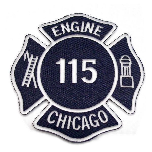 Chicago Fire Dept. - Engine 115 Patch / Aufnäher