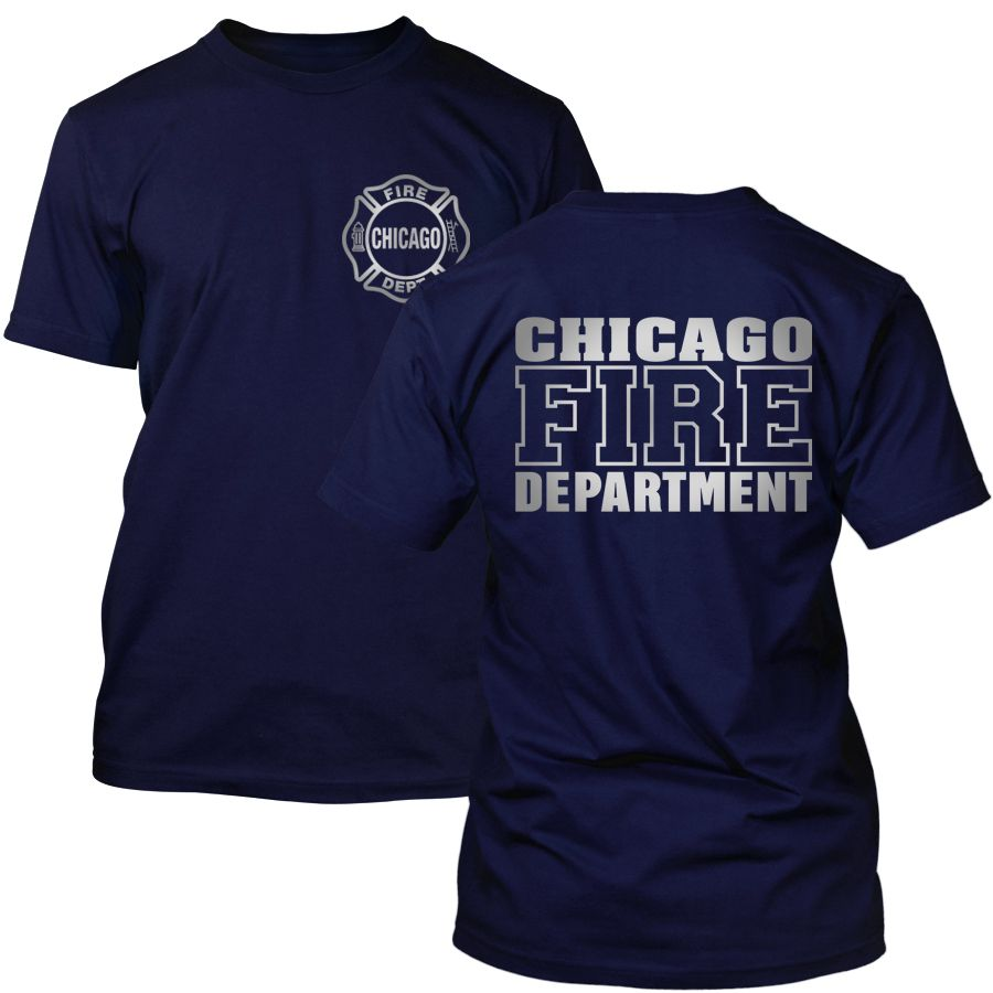 Chicago Fire Dept. - T-Shirt (Silver Edition)