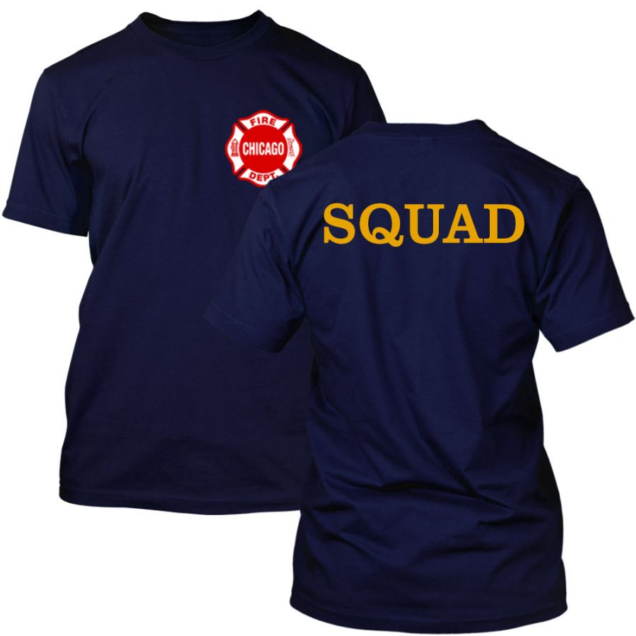 Chicago Fire Dept. - Squad T-Shirt