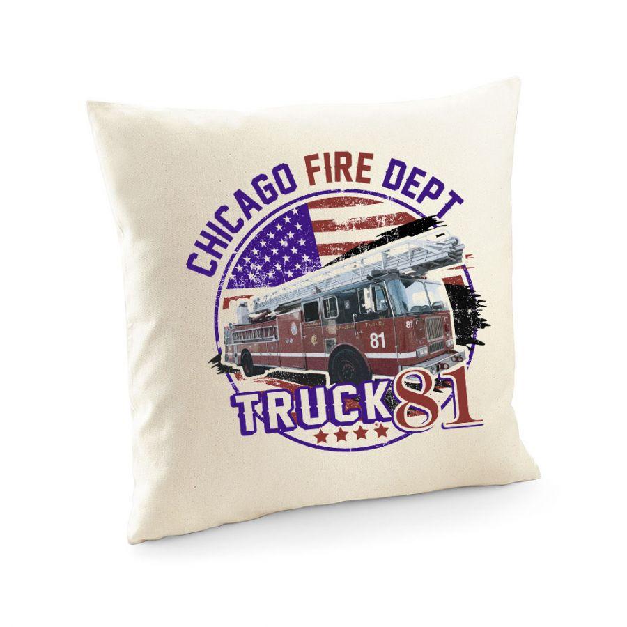Chicago Fire Dept. - Truck 81 - Kissenbezug