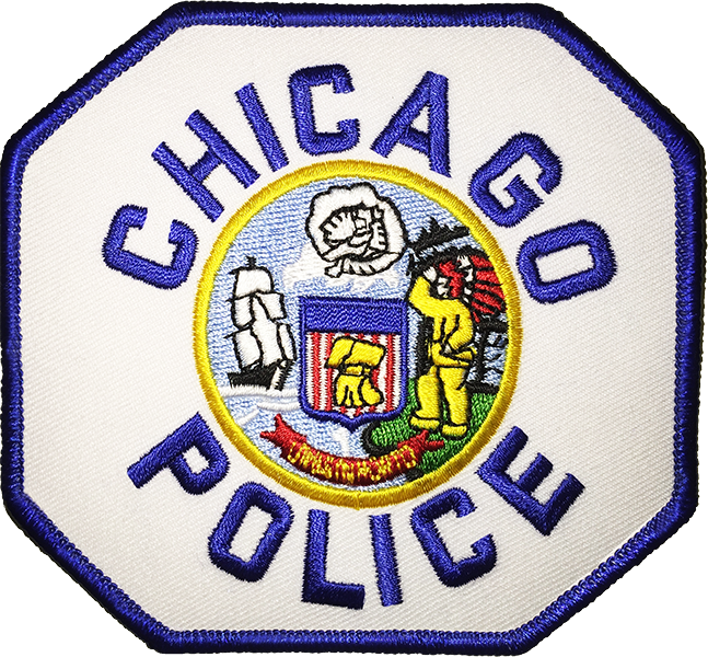 Chicago Police Dept. - Patch/Aufnäher