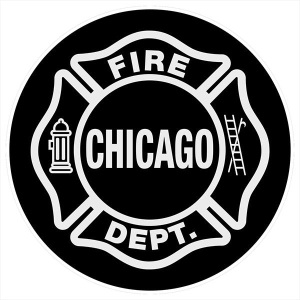 Chicago Fire Dept. - Bierdeckel (5er Set)