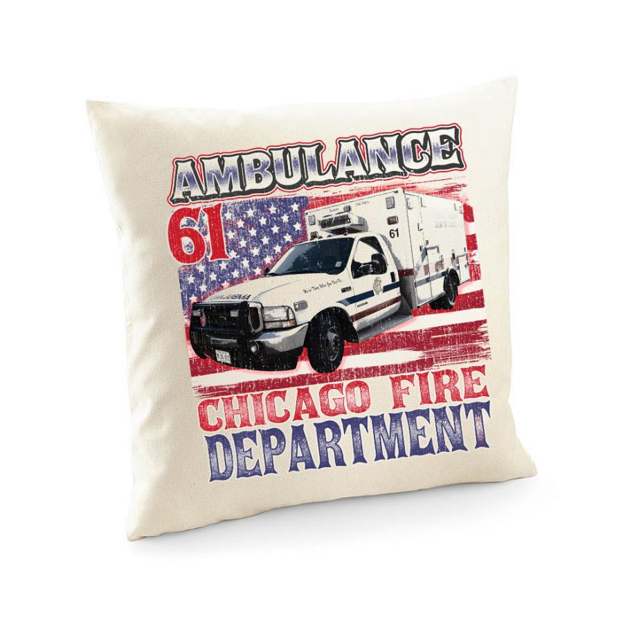 Chicago Fire Dept. - Ambulance 61 - Kissenbezug