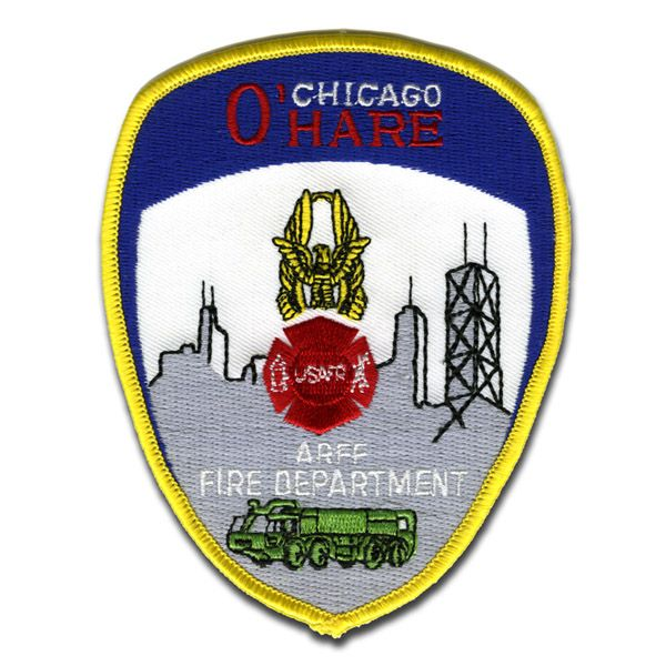 Chicago Fire Dept. - O´Hare Patch / Aufnäher