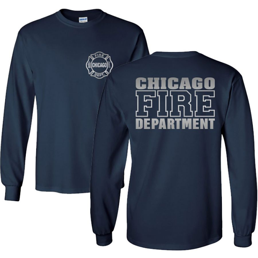 Chicago Fire Dept. - Longshirt (Silver Edition)