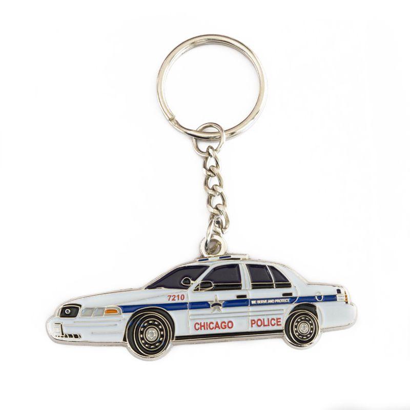 Chicago Police Car - Schlüsselanhänger