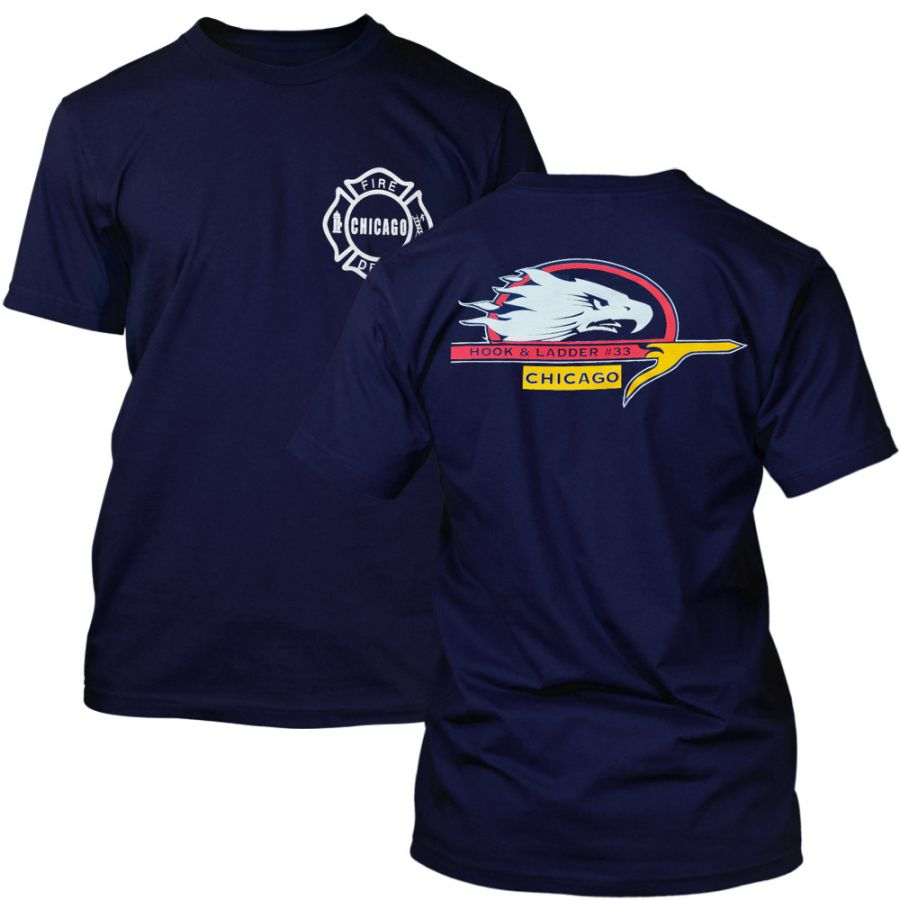 Chicago Fire Dept. - Truck 33 T-Shirt