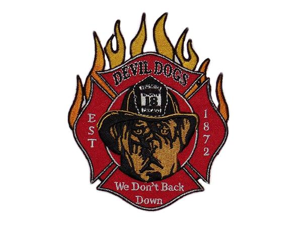 Engine 18 - Devil Dogs - Chicago Fire Dep. Patch/Aufnäher