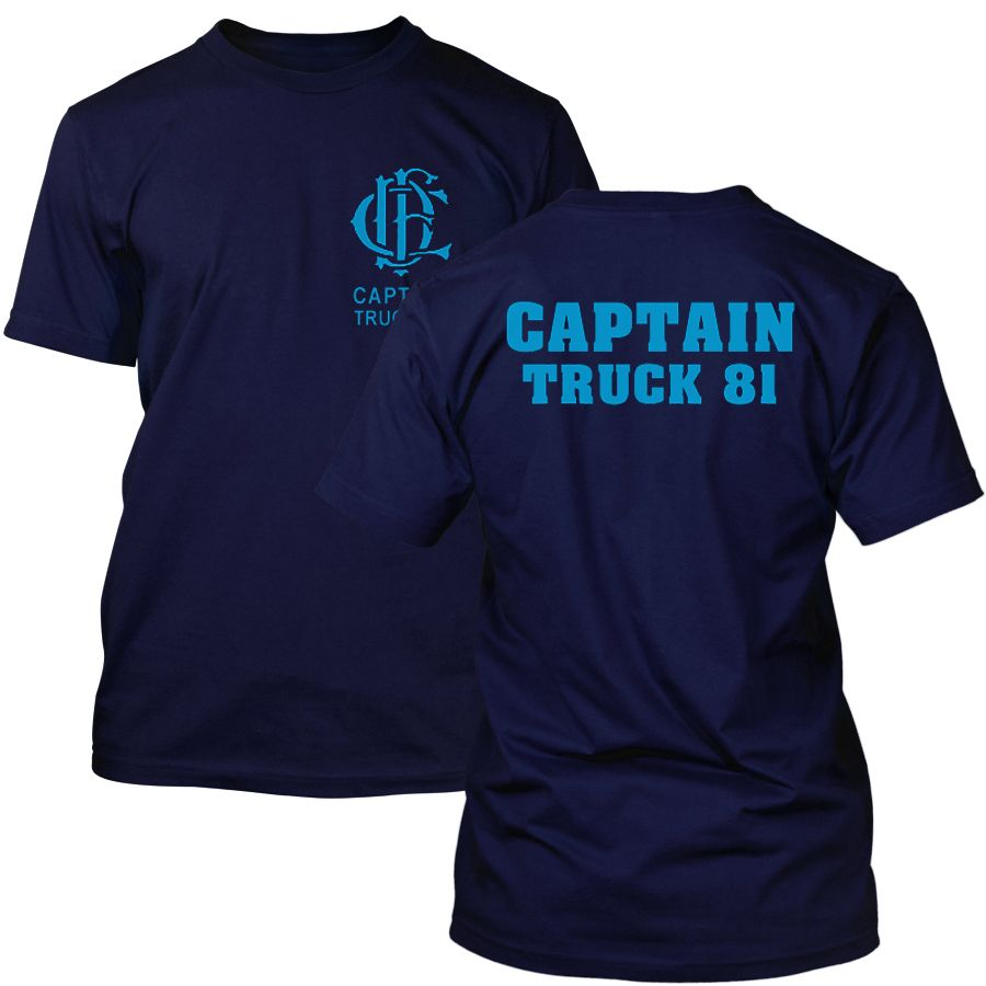 Chicago Fire Dept. - Captain Truck 81 T-Shirt