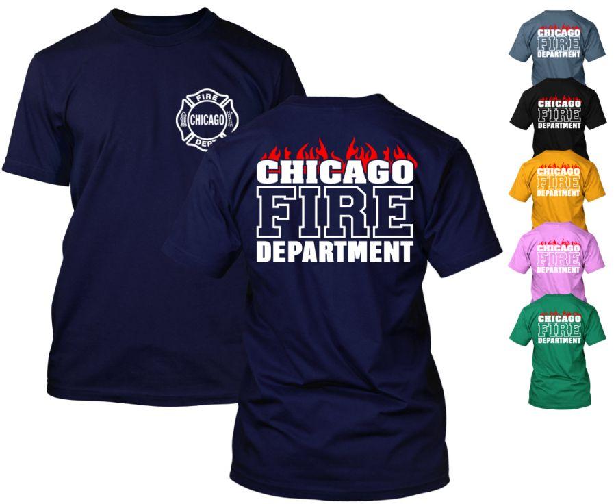 Chicago Fire Dept. - T-Shirt (Flammen Edition)