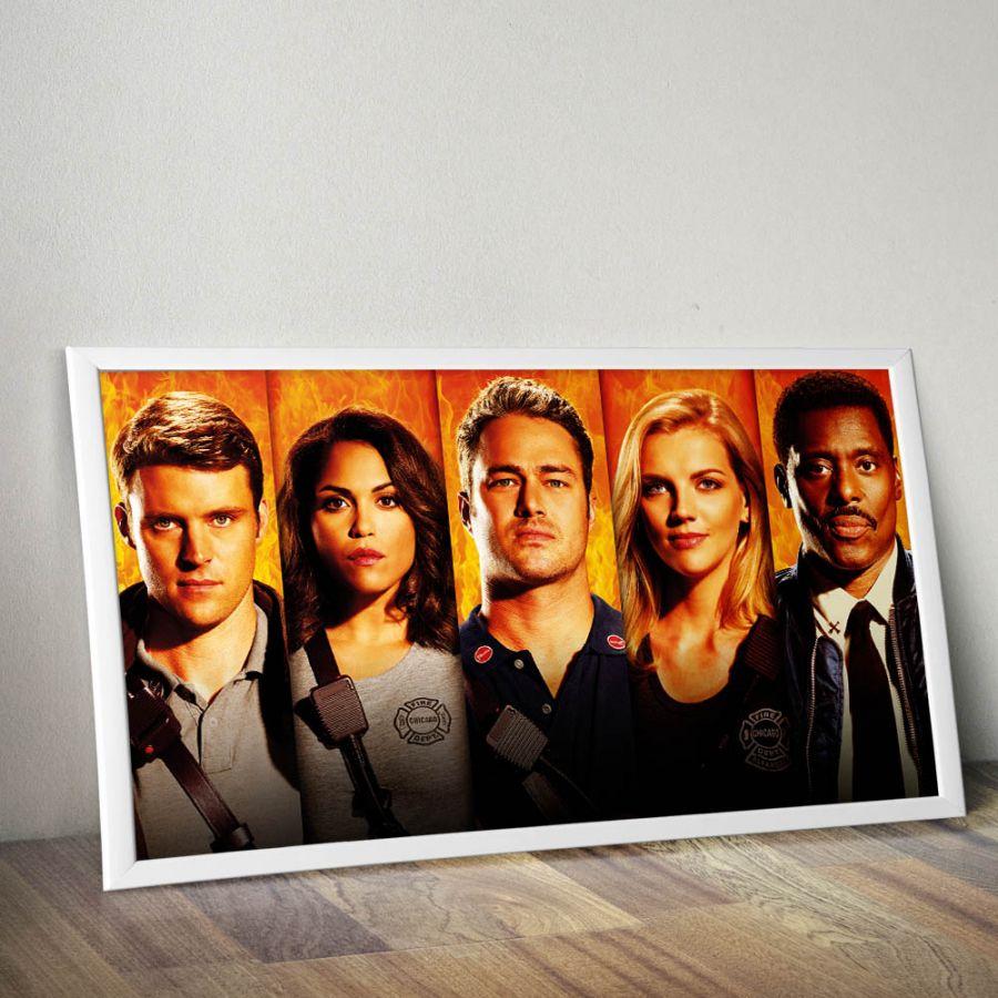 Chicago Fire Staffel 5 - Poster (83.1 cm x 46.6 cm)