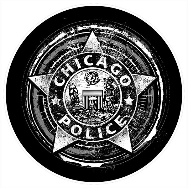 Chicago Police Dept. - Bierdeckel (5er Set)