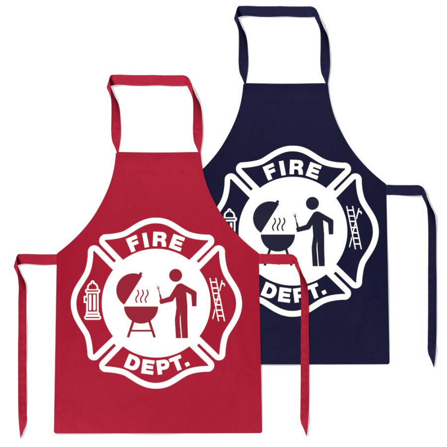 Chicago Fire Dept. - BBQ Grill Apron