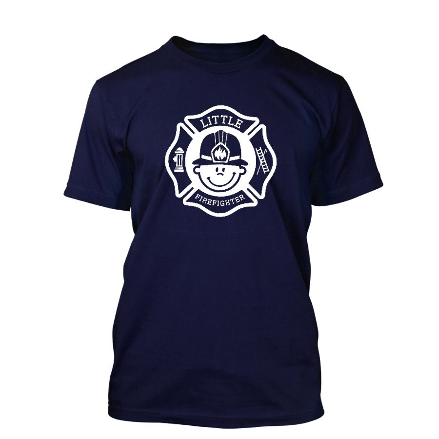 Chicago Fire Dept. - Little Firefighter T-Shirt für Kinder