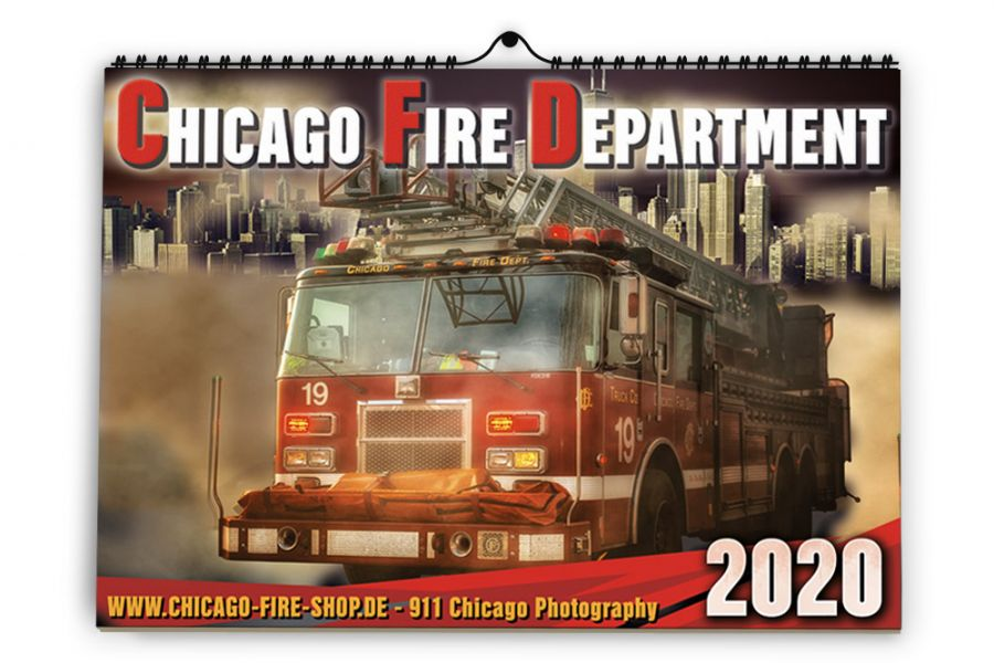 Chicago Fire Department - Kalender 2020