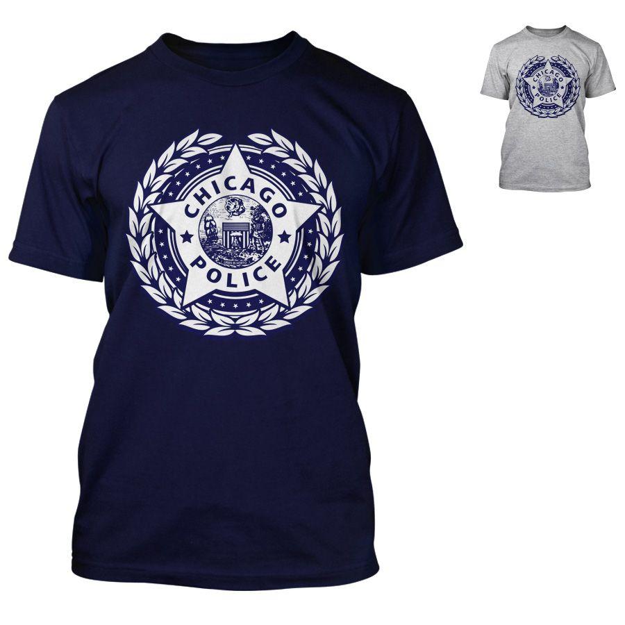 Chicago Police Dept. - T-Shirt mit Logo