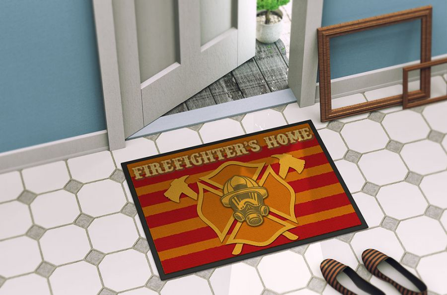 Firefighter´s Home - Fussmatte