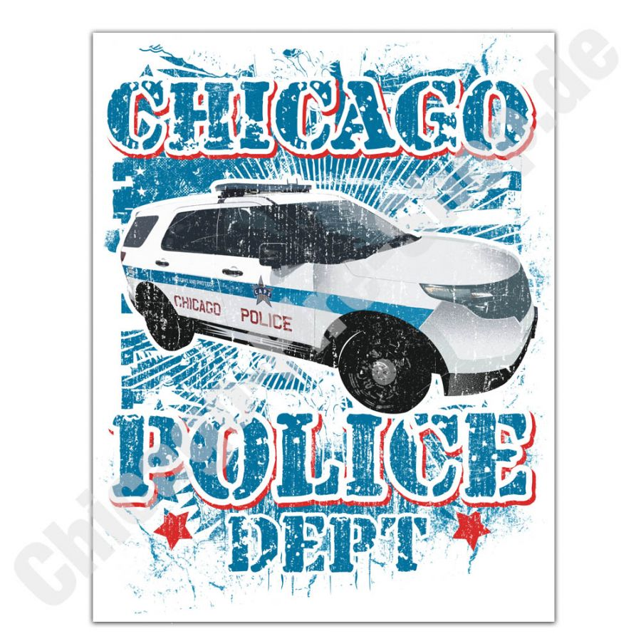 Chicago Police Dept. - Aufkleber