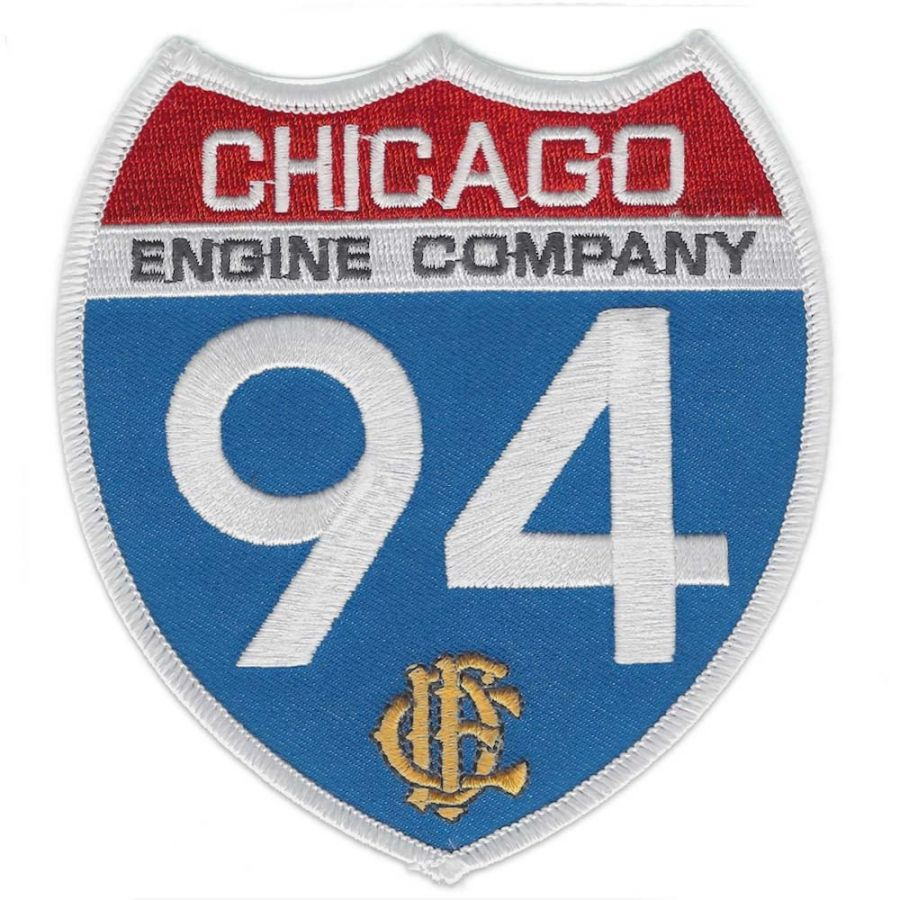 Chicago Fire Dept. - Engine Company 94 Patch / Aufnäher
